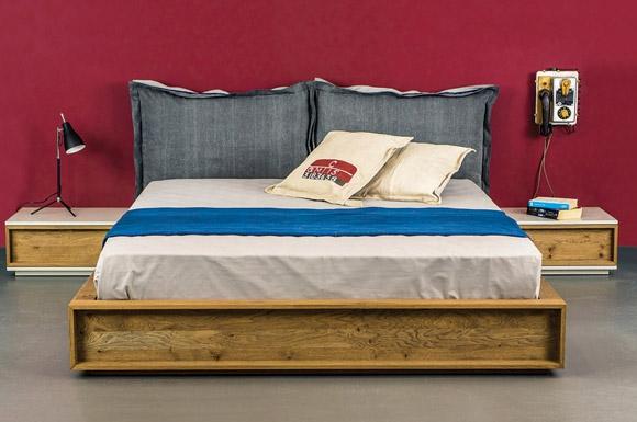 Unzipped κρεβάτι