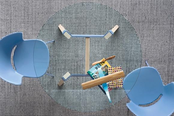 Paper στρογγυλό τραπέζι κουζίνας Calligaris
