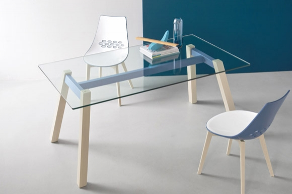 T-Table τραπέζι κουζίνας Connubia by Calligaris