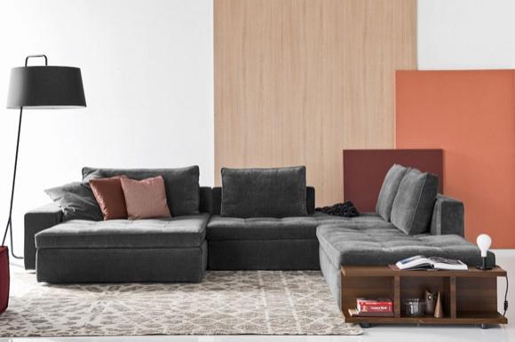 Lounge γωνιακός καναπές ή διθέσιος και τριθέσιος Calligaris -35%