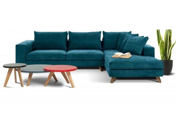 Βοστώνη γωνιακός καναπές