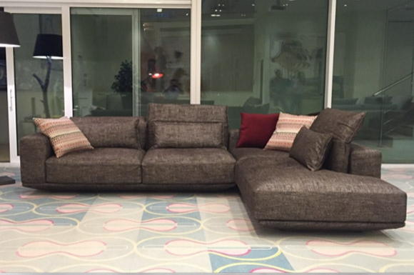 Juliet γωνιακός ή διθέσιος και τριθέσιος καναπές με μηχανισμό