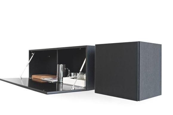Inbox Calligaris κονσόλα κουτί κρεμαστό με αποθηκευτικό χώρο 2 τεμάχια
