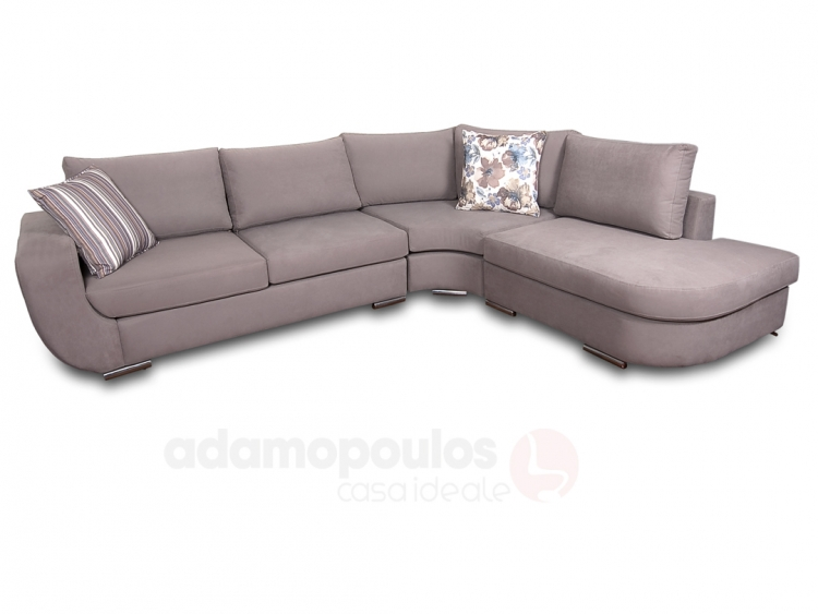 Evelyn γωνιακός, διθέσιος η τριθέσιος καναπές