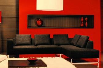 Vogue καναπές προσφορά - 45% σε χρώμα γκρι σκούρο