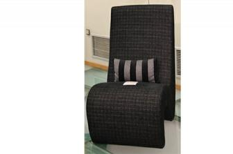 Sigma πολυθρόνα προσφορά σε χρώμα γκρι/μαύρο