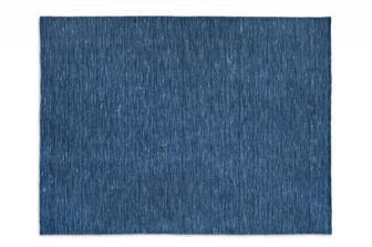 Very flat μπλε χαλί Calligaris