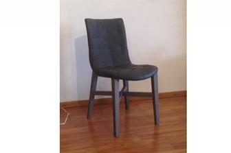 Barbara καρέκλα προσφορά σε χρώμα γκρι 6/άδα