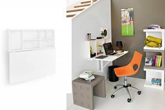 Spacebox αποθηκευτικός χώρος/ γραφείο/ τραπέζι κουζίνας Connubia by Calligaris