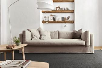 Glammy διθέσιος και τριθέσιος καναπές Calligaris