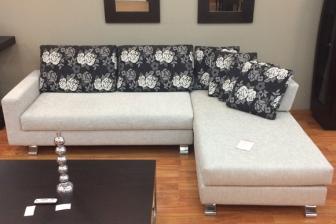 Forever καναπές Alberta σε χρώμα γκρι προσφορά 1.600 ευρώ