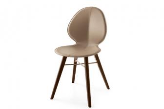 Basil New καρέκλα με τεχνόδερμα Calligaris