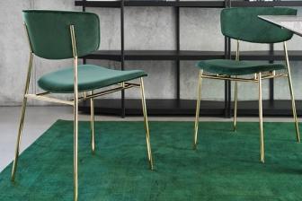 Fifties καρέκλα με ύφασμα Calligaris