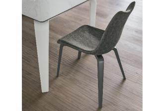 Μαγιορκα καρέκλα με ξύλινο πόδι