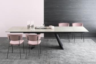 Icaro τραπέζι με ξύλο ή κεραμικό μάρμαρο και πέτρα  Calligaris