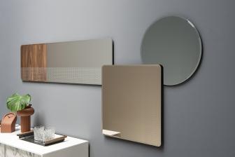 Trix καθρέπτης τετράγωνος και ολόσωμος Calligaris