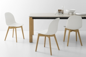 Academy Wood καρέκλα Connubia by Calligaris