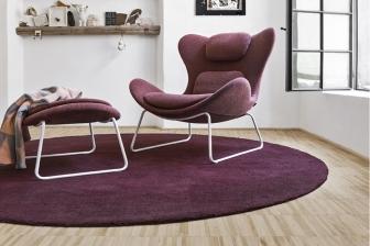 Lazy πολυθρόνα με μεταλλικά πόδια Calligaris -35%