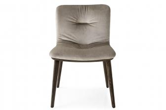 Annie Soft καρέκλα με ξύλινα πόδια Calligaris