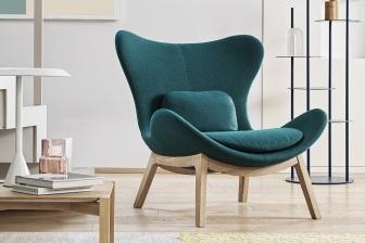 Lazy πολυθρόνα με ξύλινα πόδια Calligaris -35%