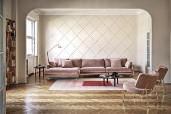 Le Marais διθέσιος, τριθέσιος ή γωνιακός καναπές Calligaris