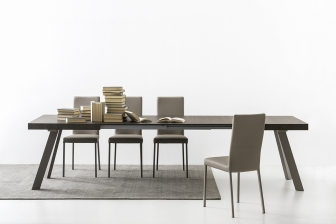 Bold επεκτεινόμενη τραπεζαρία Connubia by Calligaris