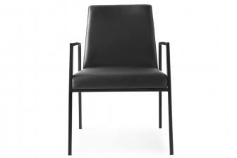 Amsterdam καρέκλα με μπράτσα Connubia by Calligaris