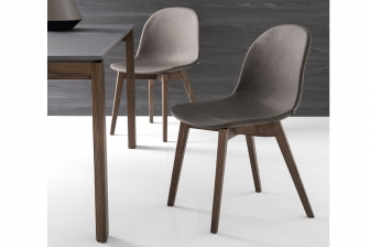Academy Wood καρέκλα Connubia by Calligaris