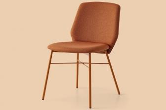Sibilla Soft καρέκλα με χρώμα Connubia by Calligaris