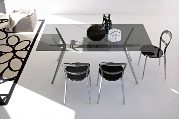 Seven τραπεζαρία Connubia by Calligaris
