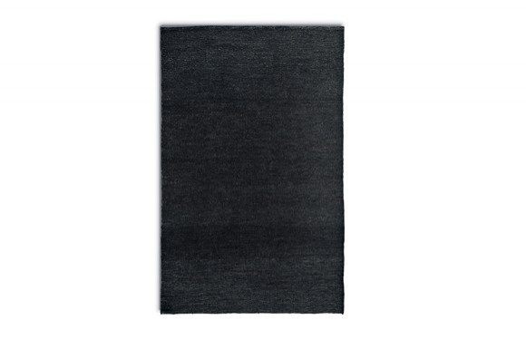 Hemp μαύρο χαλί Calligaris