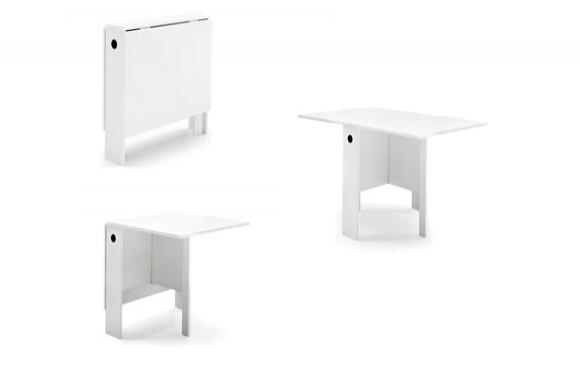 Spazio σπαστό πτυσσόμενο τραπέζι Connubia by Calligaris