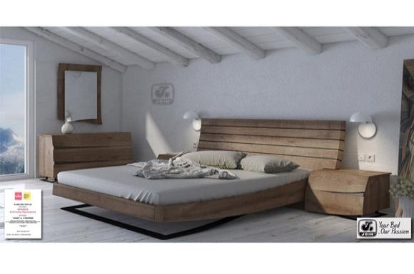 Άλκηστις Rustic κρεβάτι Join