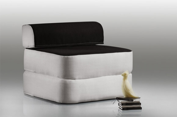 Basic II σκαμπό - μονό κρεβάτι