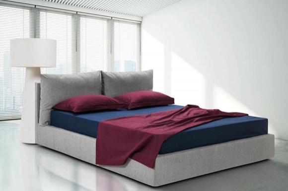 Marc υφασμάτινο κρεβάτι