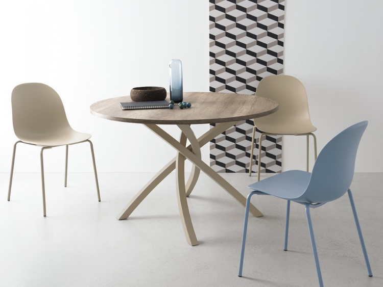 Twister στρογγυλό τραπέζι Connubia by Calligaris