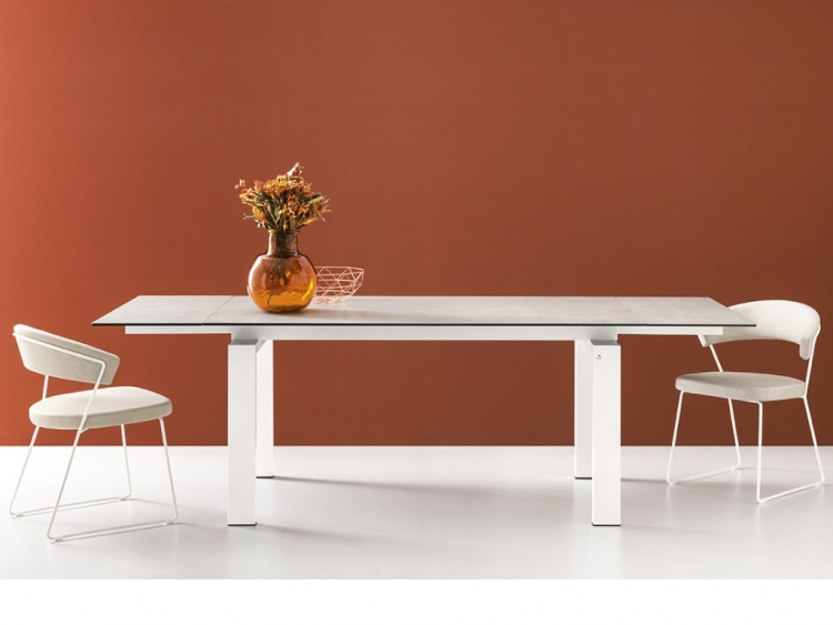 Zefiro τραπέζι με κεραμικό Connubia by Calligaris