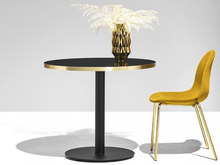 Coctail D τραπέζι κουζίνας στρογγυλό ή τετράγωνο  Connubia by Calligaris