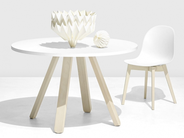 Stecco στρογγυλό τραπέζι κουζίνας Connubia by Calligaris