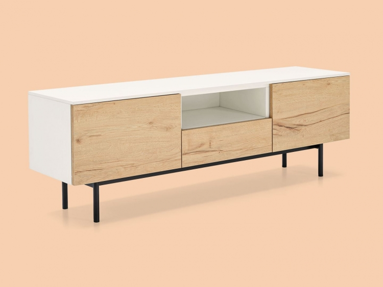 Made έπιπλο TV 101-6 με μεταλλικά πόδια Connubia by Calligaris