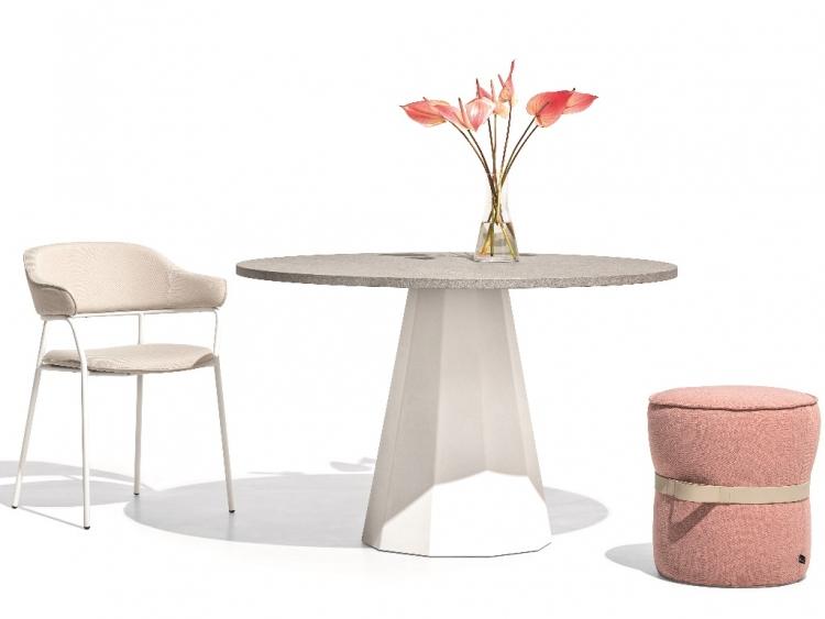 Dix στρογγυλό τραπέζι Connubia by Calligaris
