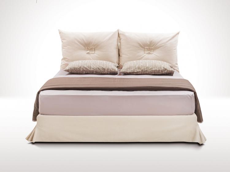 Τρίτων κρεβάτι με ύφασμα