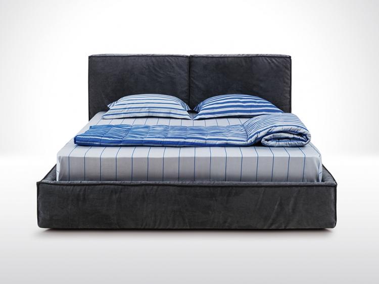 Louise κρεβάτι υφασμάτινο
