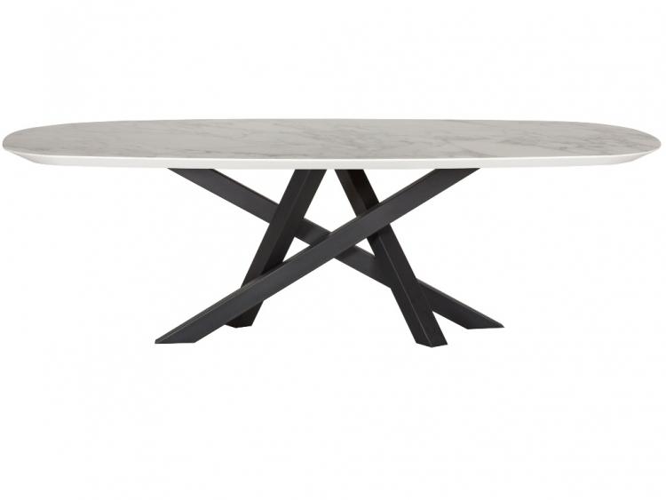Voltagio οβάλ τραπέζι με κεραμικό