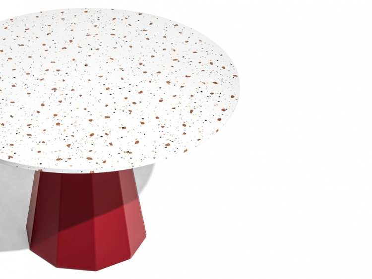 Dix στρογγυλό τραπέζι κουζίνας Connubia by Calligaris