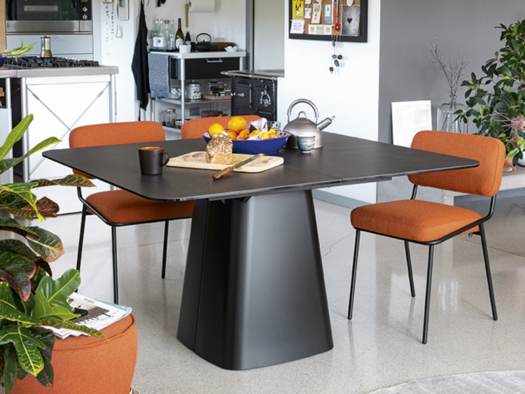 Hey Gio παραλληλόγραμμο τραπέζι Connubia by Calligaris