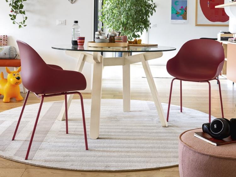 Peeno στρογγυλό τραπέζι Connubia by Calligaris