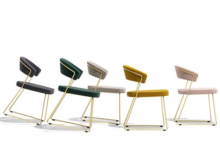New York καρέκλα Connubia by Calligaris τεμάχια 4