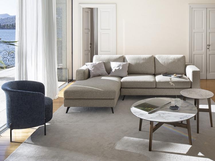 Square Next διθέσιος, τριθέσιος ή γωνιακός καναπές Calligaris