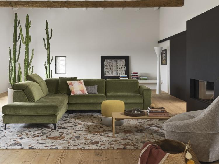 Norma διθέσιος τριθέσιος και γωνιακός καναπές Calligaris
